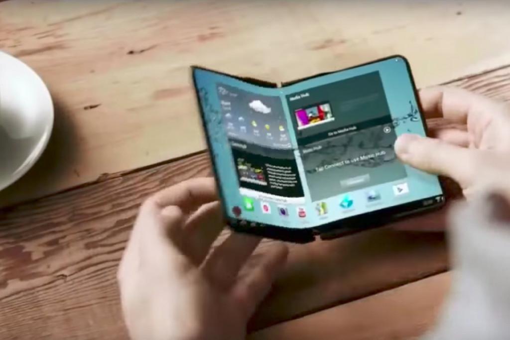 Opvouwbare telefoon Samsung