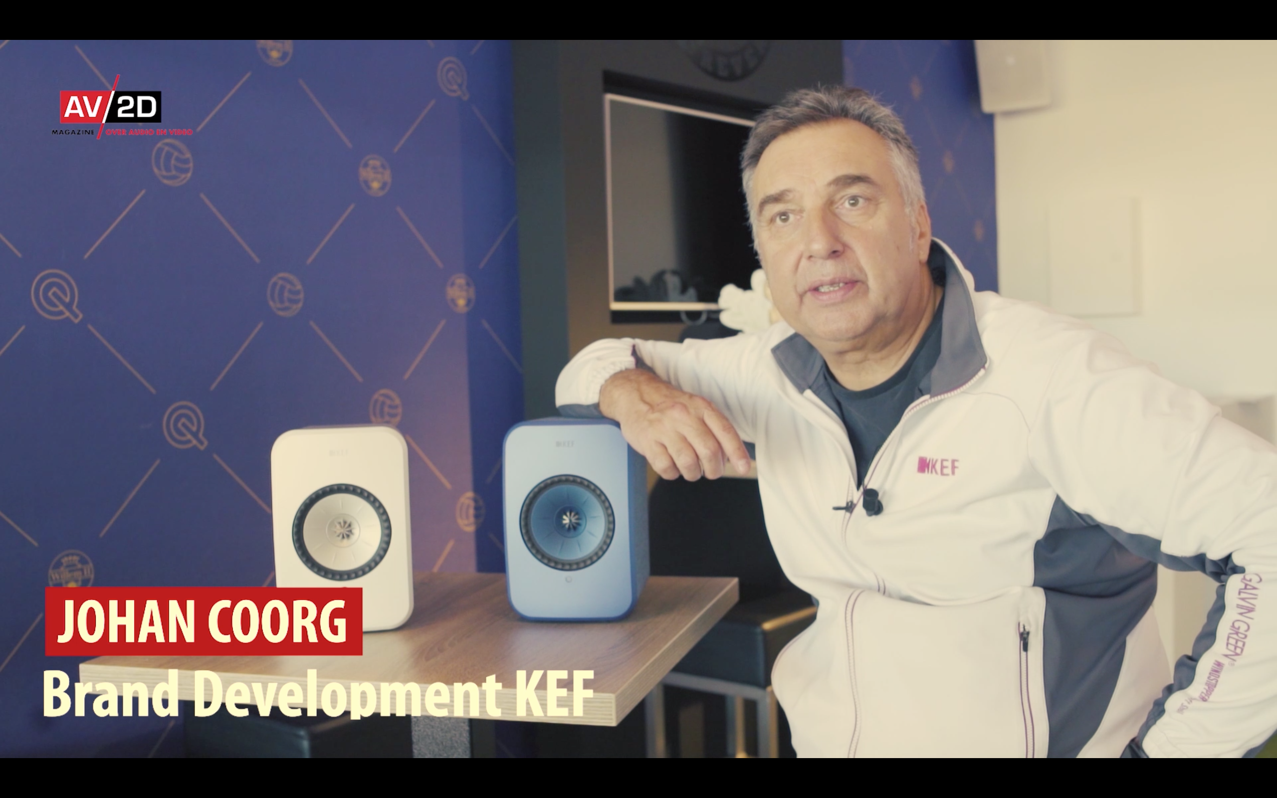 Johan Coorg KEF LSX