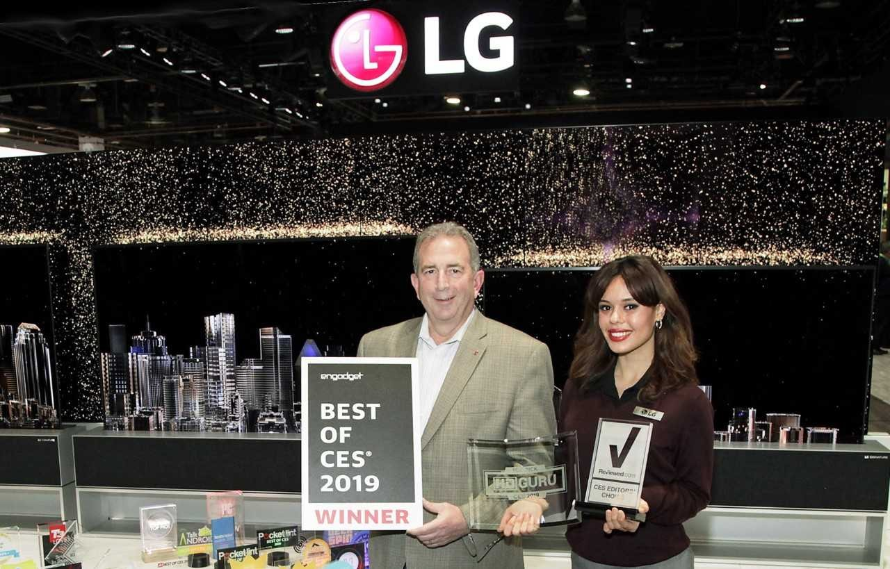 LG Electronics CES Awards