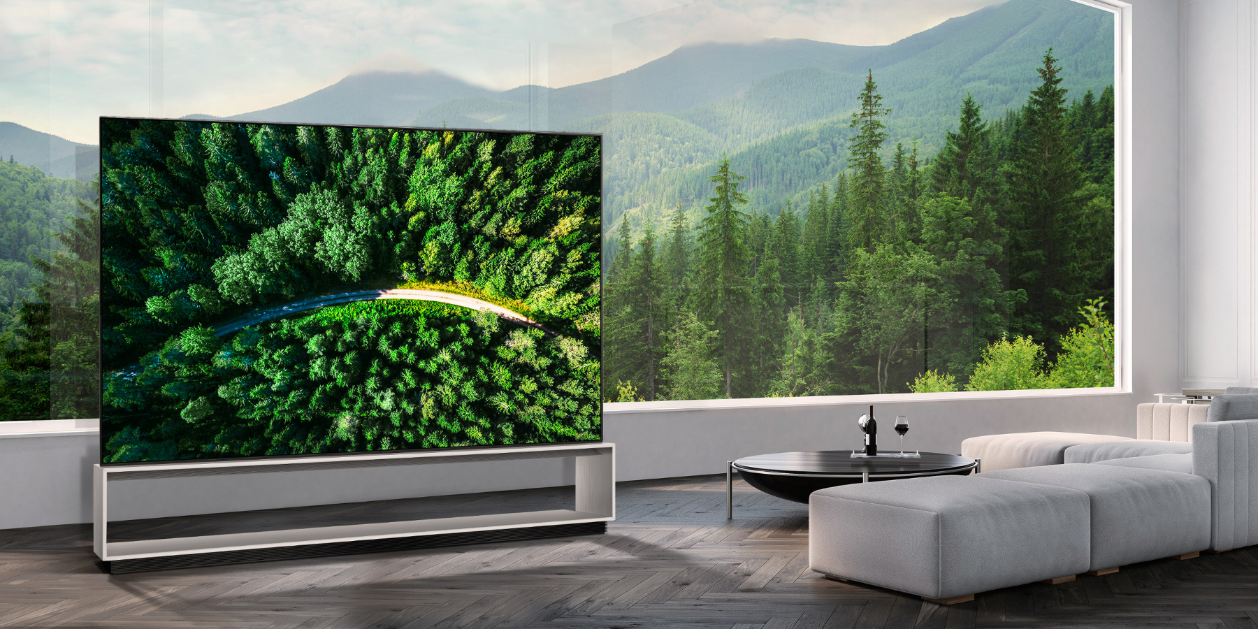 LG 8K OLED-televisie (model 88Z9)