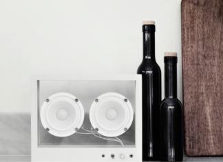 Transparent Sound: Small Transparent Speaker