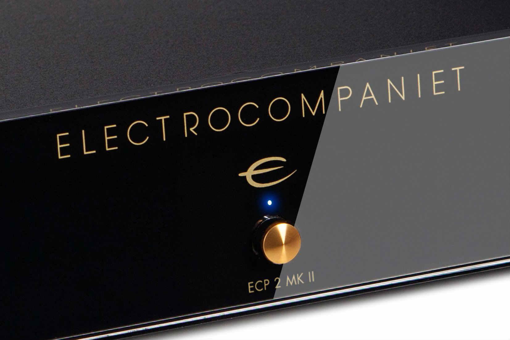 Electrocompaniet Introduceert de ECP 2 MK II phono voorversterker