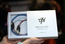 VPI Weisline Tonearm Cable