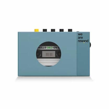 Rewind Cassette Player