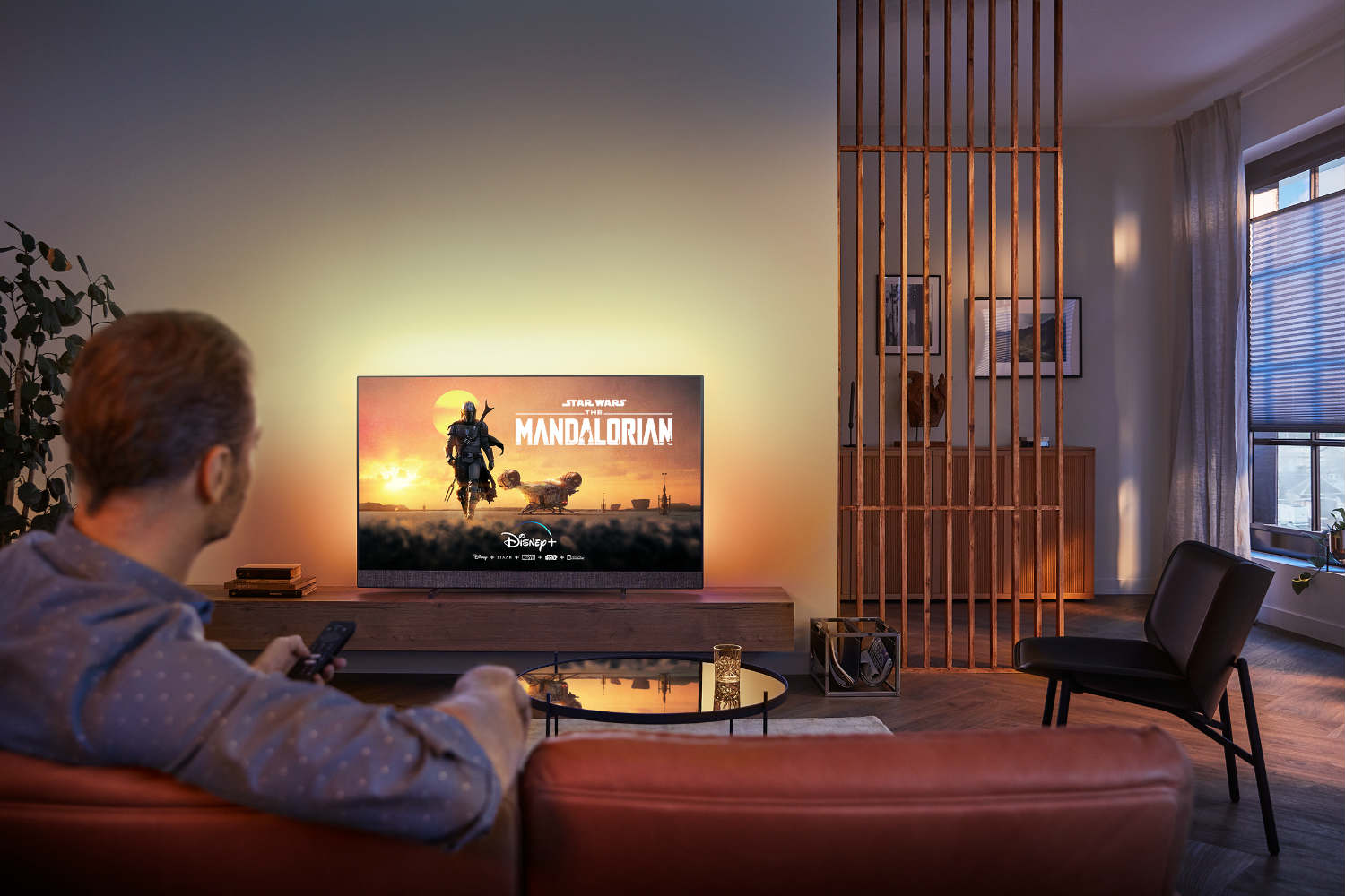 Philips Ambilight Android tv Disney+