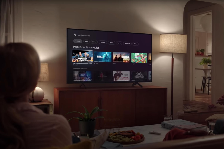 Chromecast met Google TV