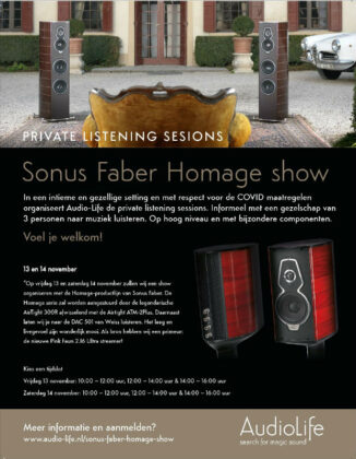 Audio-Life Private Listening Sessions
