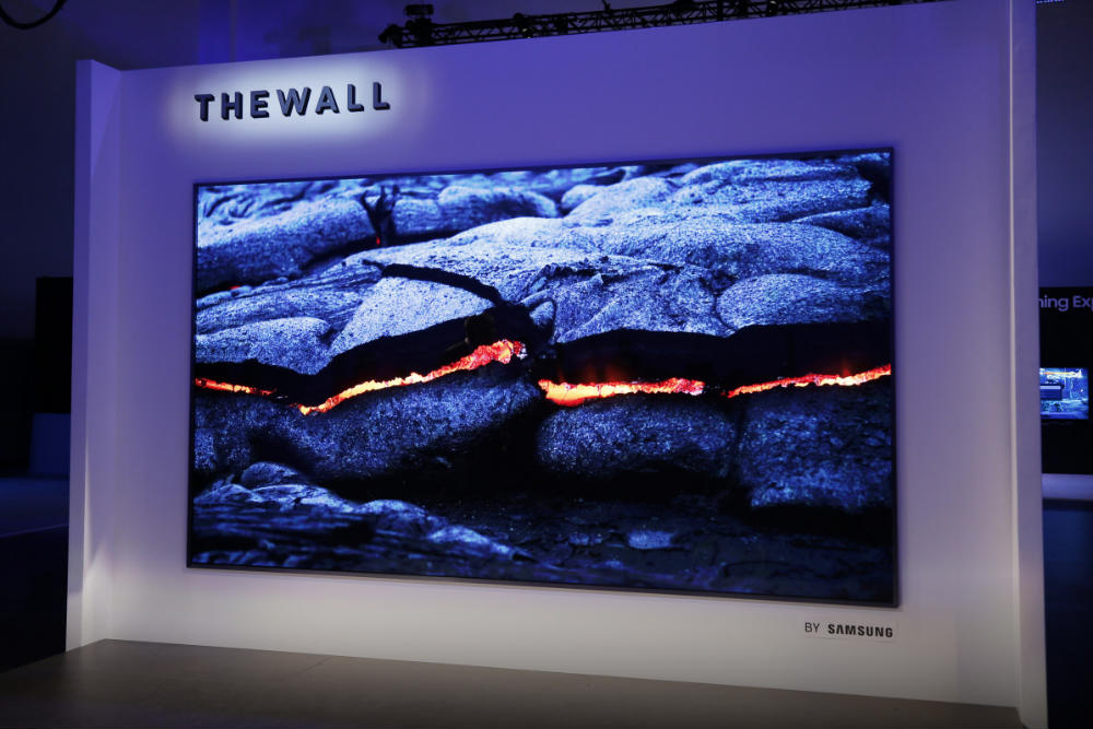 Samsung MicroLED The Wall TV