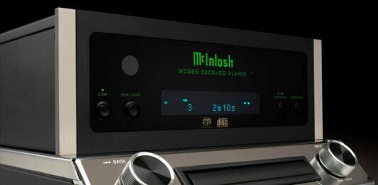 McIntosh MCD85 SACD CD