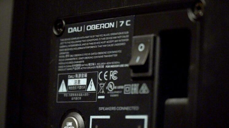 DALI OBERON 7 C Review