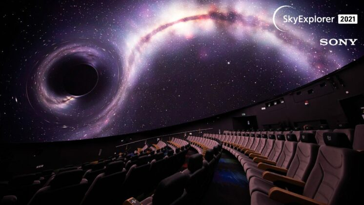 La Coupole planetarium 3D Sony