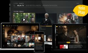 Nu ook in het buitenland genieten van Yelo Play van Telenet via 3G en 4G