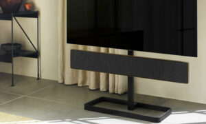 De nieuwe Bang & Olufsen Beosound Stage Floor Stand: A new stand for our new soundbar