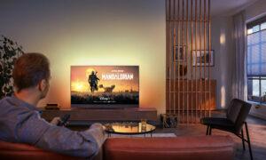Nu wordt ook Disney+ beschikbaar op Ambilight Android tv's van Philips