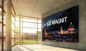 De Micro LED-technologie van LG valt in de prijzen